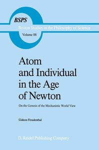 Atom and Individual in the Age of Newton