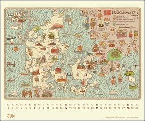 Alle Welt 2020 - Landkarten-Kalender von DUMONT- Kinder-Kalender