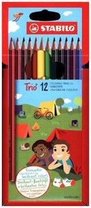 STABILO Trio 12er Etui
