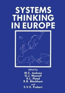 Systems Thinking in Europe