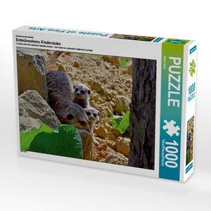 Ein Motiv aus dem Kalender Erdmännchens Kinderstube 1000 Teile P