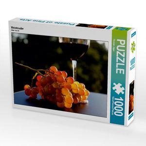 Weintraube 1000 Teile Puzzle quer