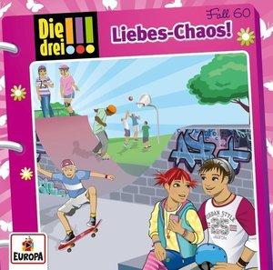Die drei !!! 60: Liebes-Chaos, 1 Audio-CD