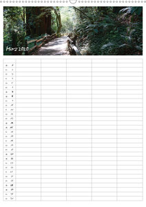 Kalifornien - Familienplaner 2020 (Wandkalender 2020 DIN A2 hoch