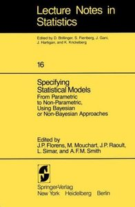 Specifying Statistical Models