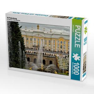 St Petersburg 1000 Teile Puzzle quer