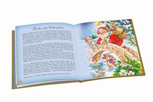 Mein kleines Weihnachtsbuch mit goldenem Farbschnitt