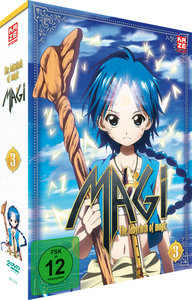 Magi - The Labyrinth of Magic - Box 3