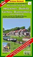 Radwander- und Wanderkarte Flusslandschaft Elbe, Hitzacker, Dömi - zum Schließen ins Bild klicken