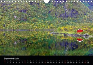 Nordische Momente (Wandkalender 2019 DIN A4 quer)
