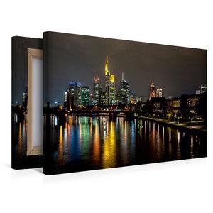Premium Textil-Leinwand 45 cm x 30 cm quer Frankfurt
