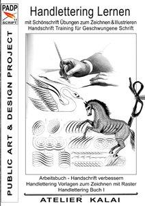 PADP-Script 11: Handlettering lernen mit Schönschrift Übungen zu