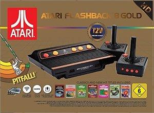 ATARI Flashback 8 Gold HD Retro-Konsole mit 120 Spielen und 2 Co