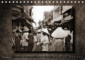 VIETNAM - Retro Impressionen (Tischkalender 2019 DIN A5 quer)