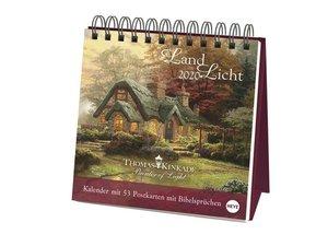 Kinkade Premium-Postkartenkalender Kalender 2020