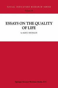 Essays on the Quality of Life