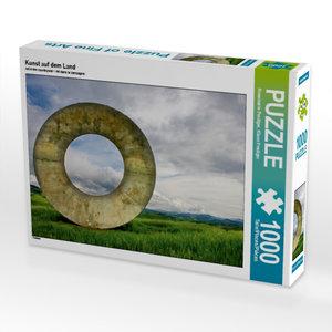 Kunst auf dem Land 1000 Teile Puzzle quer