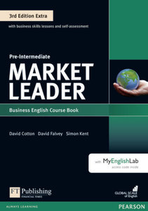 Market Leader. Plus Pre-Intermediate Coursebook with DVD-ROM Pin