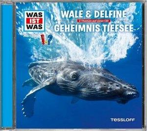Was ist was Hörspiel-CD: Wale & Delfine/ Geheimnisse der Tiefsee