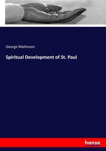 Spiritual Development of St. Paul
