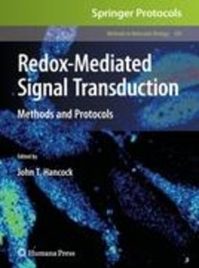 Redox-Mediated Signal Transduction