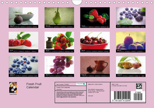 Fresh Fruit Calendar