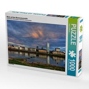 Blick auf das Mannesmannufer 1000 Teile Puzzle quer
