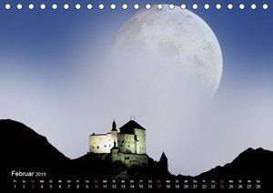 Mondnacht (Tischkalender 2019 DIN A5 quer)