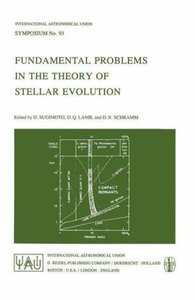Fundamental Problems in the Theory of Stellar Evolution