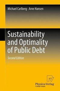 Sustainability and Optimality of Public Debt