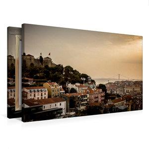 Premium Textil-Leinwand 75 cm x 50 cm quer Panorama