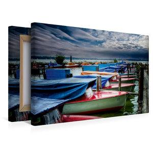 Premium Textil-Leinwand 45 cm x 30 cm quer Zwischenahner Meer
