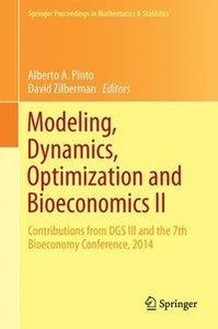 Modeling, Dynamics, Optimization and Bioeconomics II