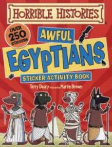 Awful Egyptians. Sticker Activity Book