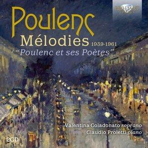 Poulenc:Melodies,Poulenc Et Ses Poetes