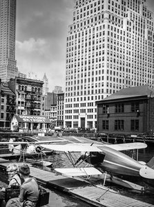 CALVENDO Puzzle Downtown Skyport, Pier 11, East River, Manhattan