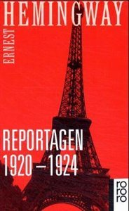Reportagen 1920 - 1924