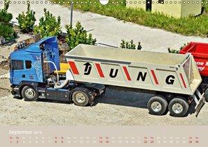 LKW Modelle beim Dampfmodellbautreffen in Bisingen