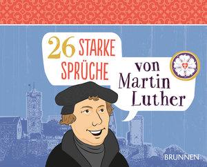 26 starke Sprüche von Martin Luther - Postkartenbuch