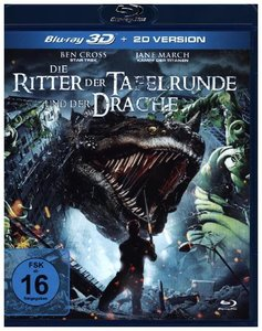 Die Ritter der Tafelrunde und der Drache 3D, 1 Blu-ray