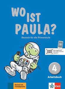 Wo ist Paula? Arbeitsbuch 4 mit CD-ROM (MP3-Audios)
