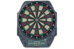 Carromco 92415 - Electronisches Dartboard Matrix 501, Schwarz mi