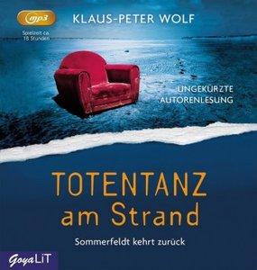 Totentanz am Strand, 2 Audio-CDs, MP3 Format