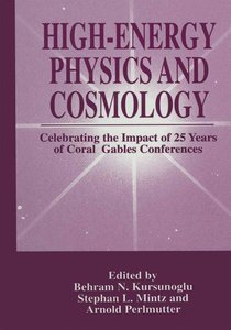 High-Energy Physics and Cosmology