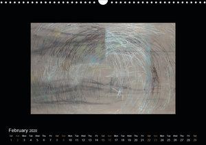 Abstract Expressionism (Wall Calendar 2020 DIN A3 Landscape)