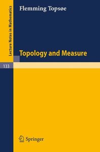 Topology and Measure