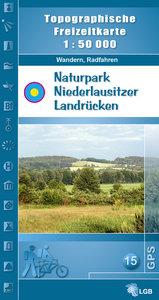 Naturpark Niederlausitzer Landrücken 1 : 50 000