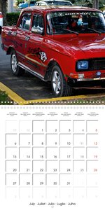 LADA AND CO. SOVIET CARS IN CUBA (Wall Calendar 2020 300 × 300