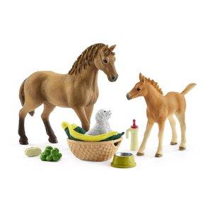 Set Tierbaby-Pflege & Pferde Quarter Hor