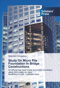 Study On Micro Pile Foundation In Bridge Constructions